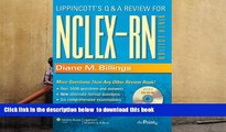 FREE [DOWNLOAD] Lippincott s Q A Review for NCLEX-RN® (Lippioncott s Review for Nclex-Rn) Diane