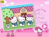 HELLO KITTY COLORING GAME juegos gratis, jeux gratuits, cocina, jeux de fille, cuisine baby games GL