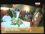 Football: Le Président de l'Africa Sport Cheik Oumar Koné accueilli par membres associés