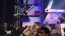 WWE Jeff Hardy vs Randy Orton   EXTREME FIGHT  Jeff Hardy almost KILLS HIMSELF & Randy Orton