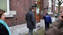 Visite des locaux de la police Ans St Nicolas