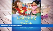 PDF [Download] Learning to Teach, 9th Edition Trial Ebook