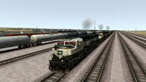 Train Simulator 2017 Gameplay BNFS EMD SD 70 MAC Locomotive - Return of the Mac - Cajon Pass