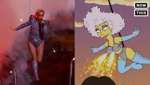 'The Simpsons' Totally Predicted Lady Gaga's Halftime Performance