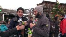 Hautes-Alpes : À Serre-Chevalier, les vacanciers apprécient la neige et l'ambiance du front de neige