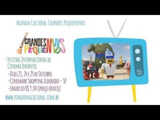 Agenda Cultural SP semana 19/10/15 - Festival Internacional de Cinema Infantil