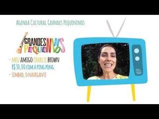 Agenda Cultural SP Final de Semana 12/03/16 - Simbad, O Navegante