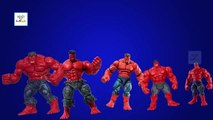 Hulk Finger Family   RED HULK Cartoon 3D Animation Finger Family Nursery Rhymes & Songs For Children