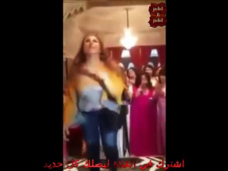 عرس مغربي شعبي حقيقي وشطحة فوق المائدة -معلمة جديد 2017