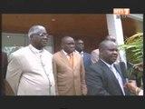 Le Président du PDCI RDA Henri Konan Bédié a reèu une délégation de l'ONU