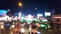 Traffic In Ho Chi Minh City (Saigon), Vietnam - Feb 2017