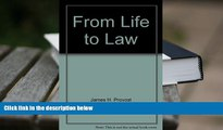 PDF [FREE] DOWNLOAD  From Life to Law (Monograph / American Bar Association, Section of Antitrust