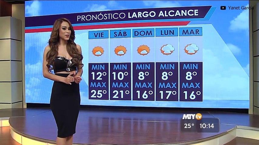 Yanet García, la presentadora del clima más sexy del mundo