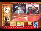 Sheikh Rasheed criticizes PMLN for threatening the Supreme court in a live show.