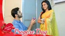 Karan PROPOSES Naina On Propose Day  Valentine's Week Special  Ek Shringaar Swabhimaan