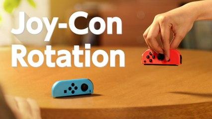 Joy Con Rotation de 1 2 Switch