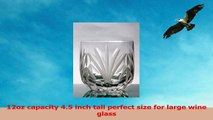 Set of 4 Doubled Old Fashion Stemless Crystal Wine Glasses and Cocktail Drinking Glasses 89fdd956