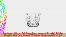 Godinger Silver Art Aberdeen Leaded Crystal 10 Oz Double Old Fashioned Whiskey Glasses d5bcf192