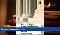 PDF [DOWNLOAD] Bills of Lading and Bankers  Documentary Credits (Maritime and Transport Law