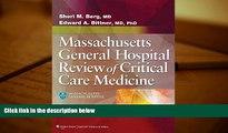 Audiobook  Massachusetts General Hospital Review of Critical Care Medicine Sheri M. Berg MD  BOOK