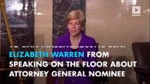 Republican senators just silenced Democrat Elizabeth Warren
