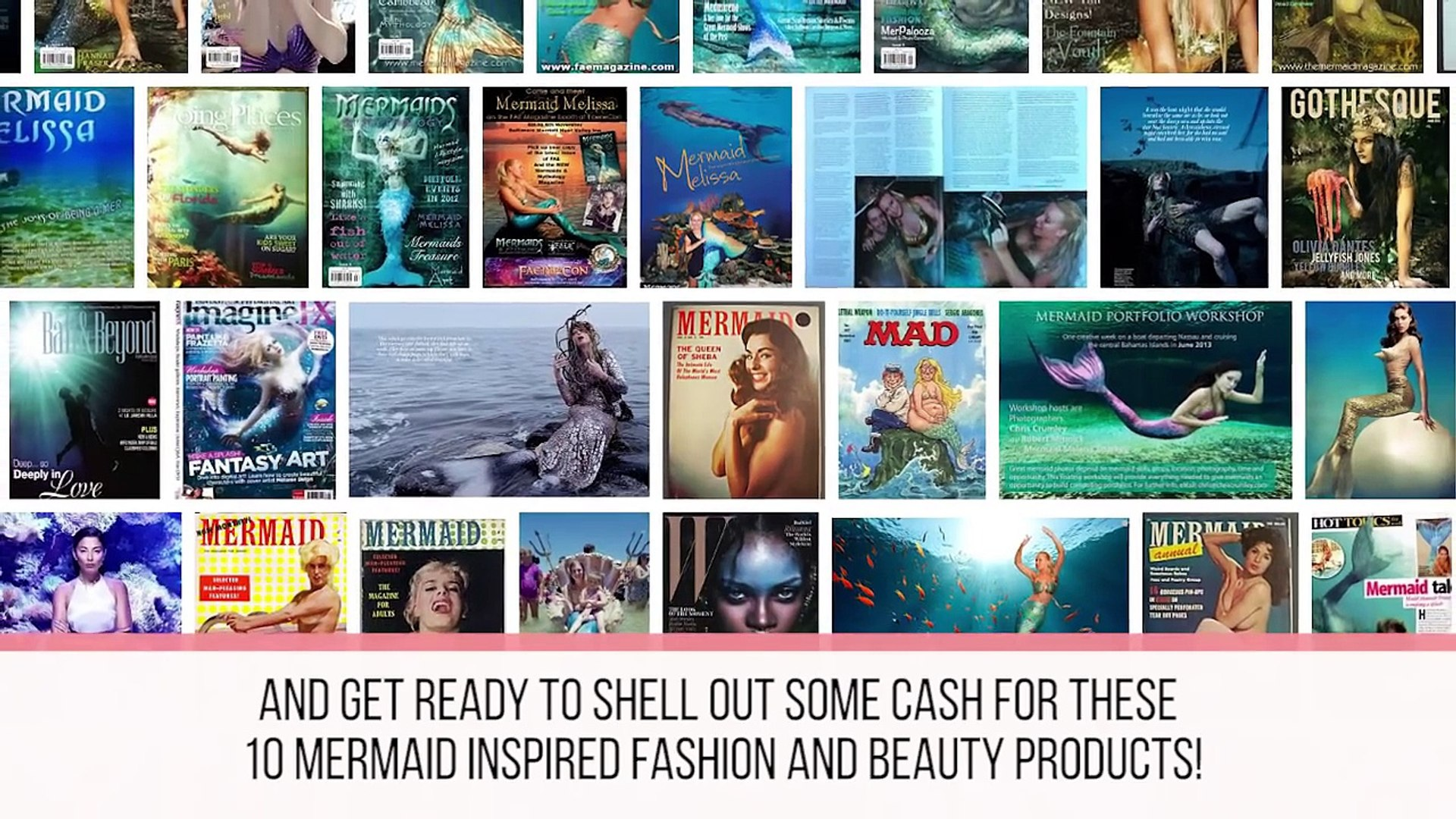 10 MERMAID Inspired Beauty and Fashion Products-z2TOFsOJOnM