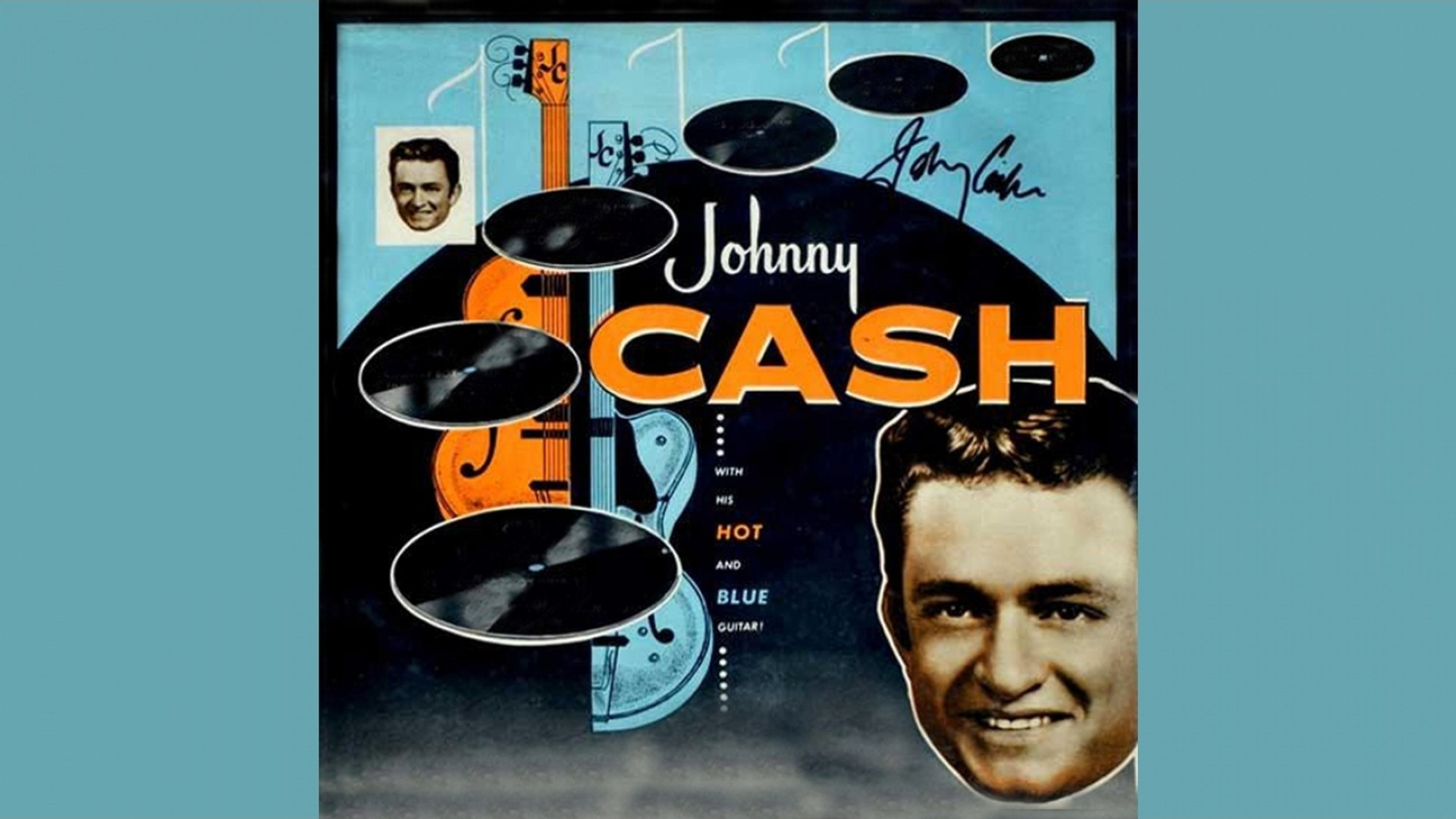 Johnny Cash - With His Hot And Blue Guitar - Full Album