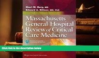 PDF [DOWNLOAD] Massachusetts General Hospital Review of Critical Care Medicine Sheri M. Berg MD