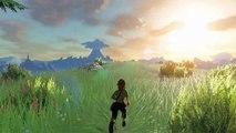The Legend of Zelda : Breath of the Wild - Courir dans Zelda BoTW