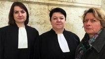 Les avocates de la SPA, du Refuge de l'Angoumois, de la fondation Brigitte Bardot et la présidente du Refuge de l'Angoumois
