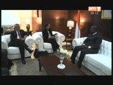 Le 1er minsitre Ahoussou a reçu l'ambassadeur du Japon et une délégation americaine