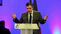François Fillon a livré un discours offensif à Poitiers (Majid Bouzzit)