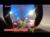 Avrasya Tüneli'nden bisikletiyle geçti