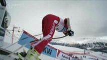 Olivier Jenot hard crash SG World Champs St. Moritz