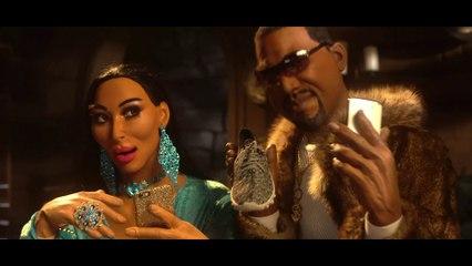 The new Cindirella : Kim Kardashian and Kanye West - The Guignols - CANAL+