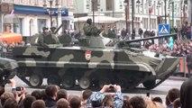 BMP-97 APC, TOS-1A Buratino Thermobaric MLRS, 9A52-2 Smerch MLRS, Topol-M ICBM