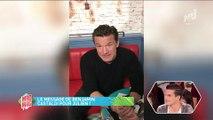 Le Mad Mag : Benjamin Castaldi adresse un petit message à son fils pour sa première