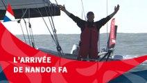 J94 : L'arrivée de Nandor Fa aux Sables d'Olonne / Vendée Globe