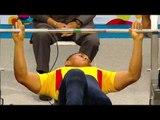 Day 2 Powerlifting   Men's up to 65kg   Toronto 2015 Parapan American Games