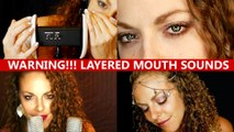 WARNING!! Wet Layered ASMR Mouth Sounds & Ear to Ear Eating Intense Binaural