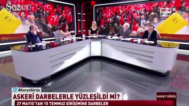 Orhan Bursalı ile Nagehan Alçı Arasında Sert Tartışma