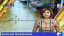 Diguyur Hujan Deras, Banjir Bandang Genangi Pemukiman Warga di NTB