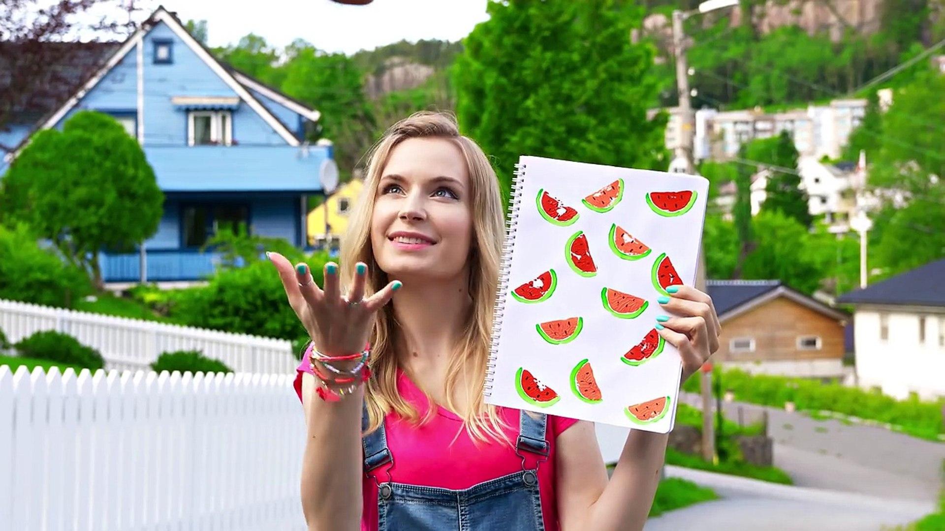 04.DIY School Supplies! 10 Weird DIY Crafts for Back to School with DIY Lover!