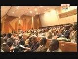 Présentation des forces politiques à la 1ère session parlementaire de l'assemblée nationale