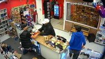 Family Fights Off Robber With Flare Gun