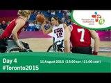 Day 4   Toronto 2015 Parapan American Games