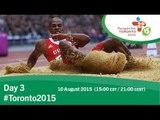 Day 3   Toronto 2015 Parapan American Games