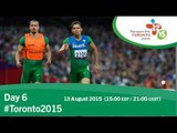 Day 6 | Toronto 2015 Parapan American Games