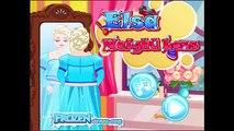 Elsa Workout Weight Loss - Fat Frozen Princess Going to Gym
