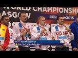 Men's 4x100m Medley Relay 34points | Victory Ceremony | 2015 IPC Swimming World ChampionshipsGlasgow